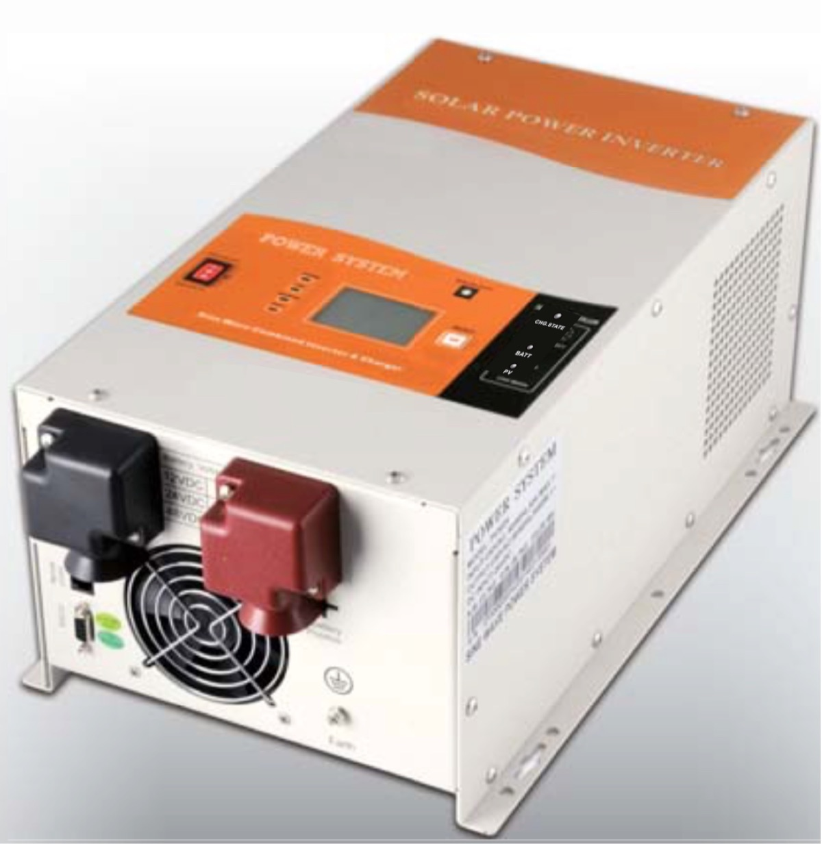 Inverter/Charger with MPPT Charge Controller, 4kW, Off-Grid, 12V to  120/240vac