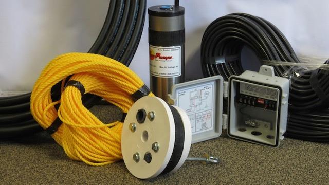 Solar Amp Well Pump Kit 3 5 Gpm 125 360 Deep Sunnycal