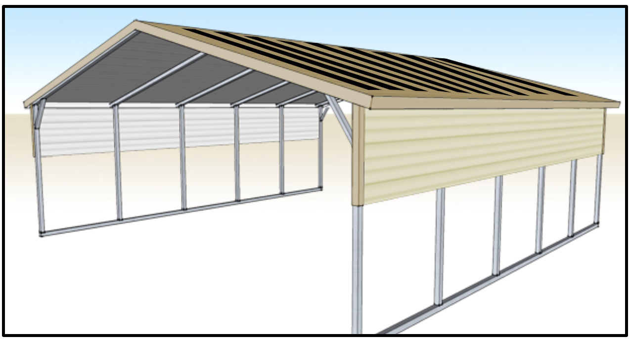 SunnyCal Solar provides solar carport for homes and businesses