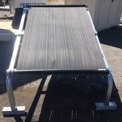 Stand for solar heating modules