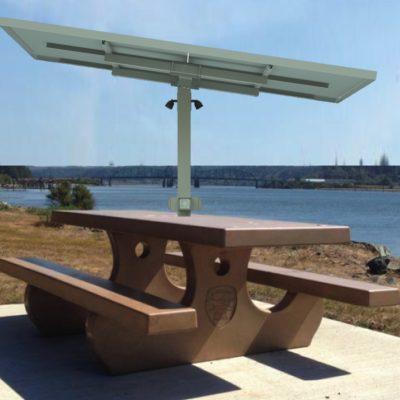 Solar Picnic Table Archives SunnyCal Solar - Solar picnic table