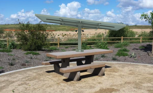 Solar Picnic Table 2a