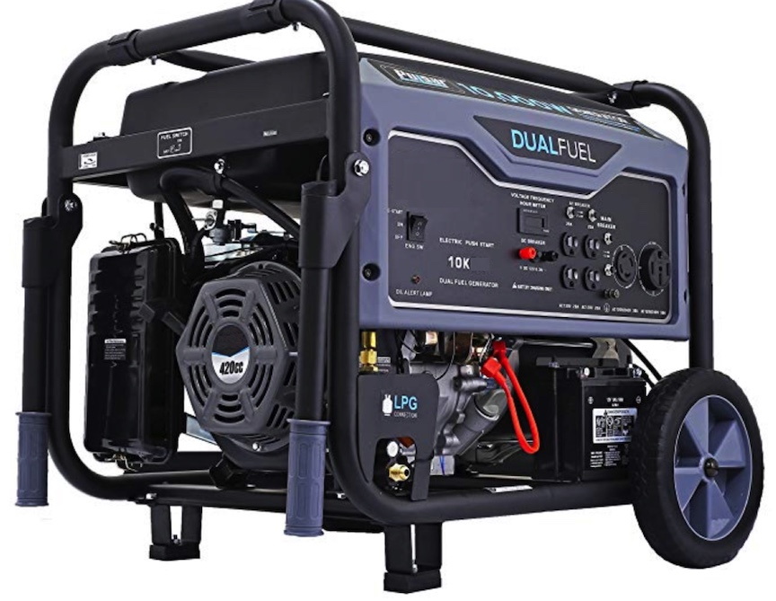 Dual Fuel 9kw Standby Generator Gas Propane Elect Start