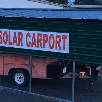 10x40 Mobile Home Solar Carport Installed Sunnycal Solar Inc