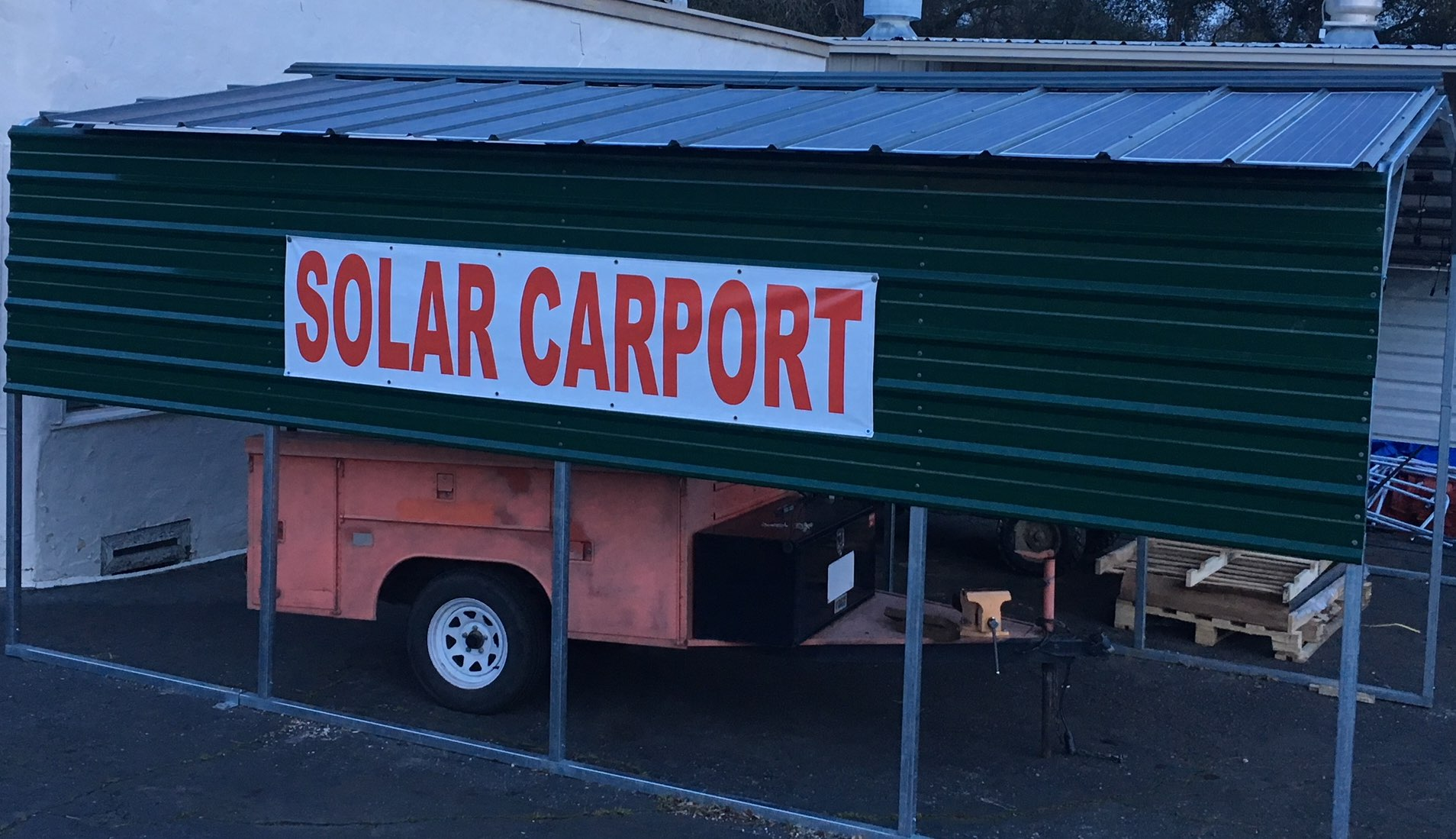 10x40 Mobile Home Carport Installed Sunnycal Solar Inc