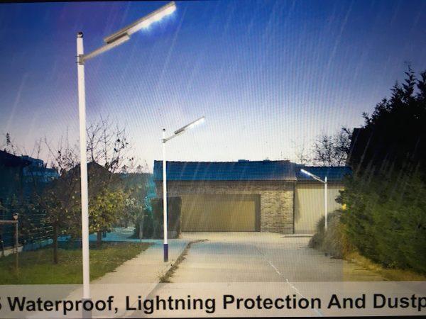 300W LED Solar Street Light