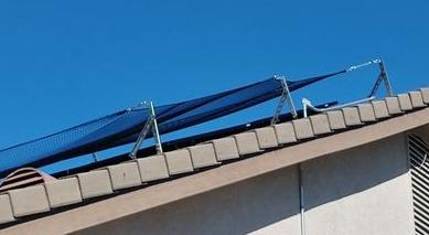 Solar panel net