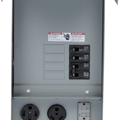Breaker Panel for EV Chargers