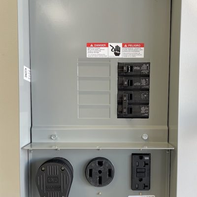 Breaker Panel for Solar and EV