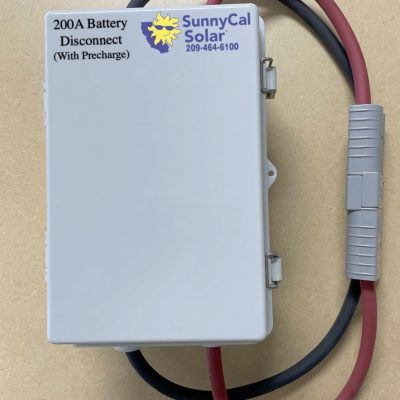 200A Battery Disconnect with Pre-charge