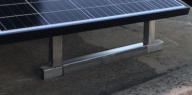 Solar-To-Go arrays joined with spice bar